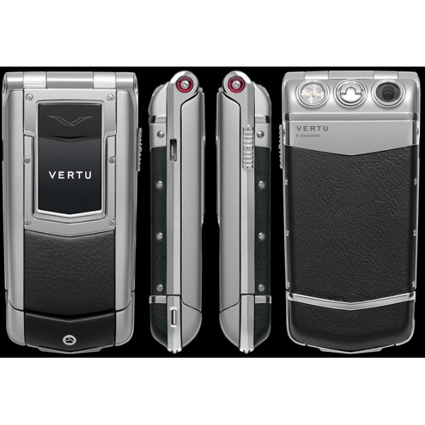 Vertu Constellation Ayxta Steel Aluminium Ceramic Black