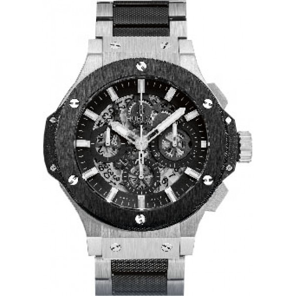 Hublot watches Aero Bang Steel Ceramic Bracelet