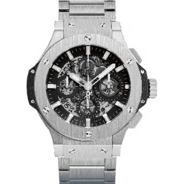 Hublot watches Aero Bang Steel Bracelet