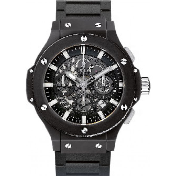 Hublot watches Aero Bang Black Magic Bracelet
