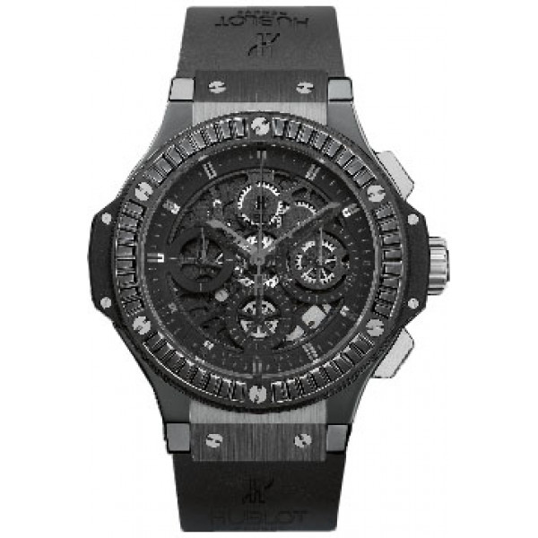 Hublot watches AERO BANG ALL BLACK CARAT