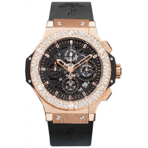 Hublot watches Aero Bang Red Gold Diamonds