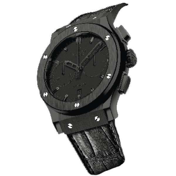 Hublot watches Fusion All Black Chronograph