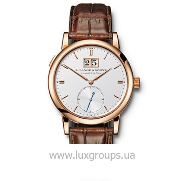 A.Lange and Söhne watches Saxonia Automatik (RG / Silver / Leather)