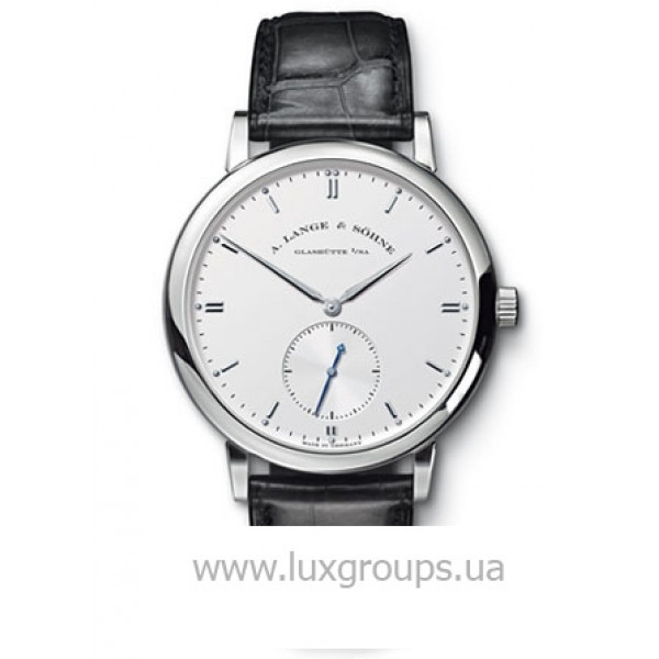 A.Lange and Söhne watches Grand Saxonia Automatik (WG / Silver / Leather)