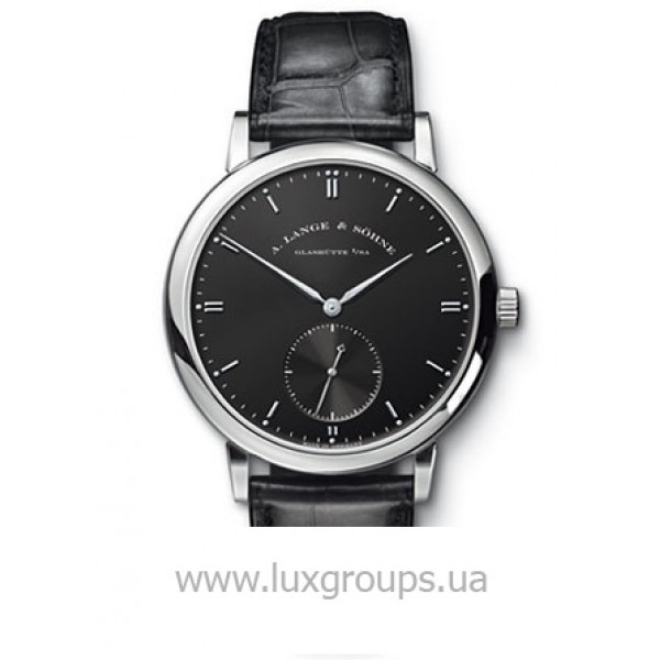 A.Lange and Söhne watches Grand Saxonia Automatik (WG / Black / Leather)