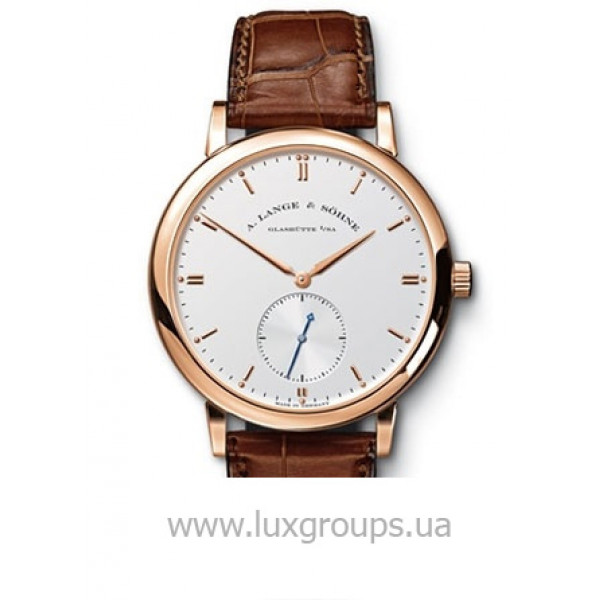 A.Lange and Söhne watches Grand Saxonia Automatik (RG / Silver / Leather)