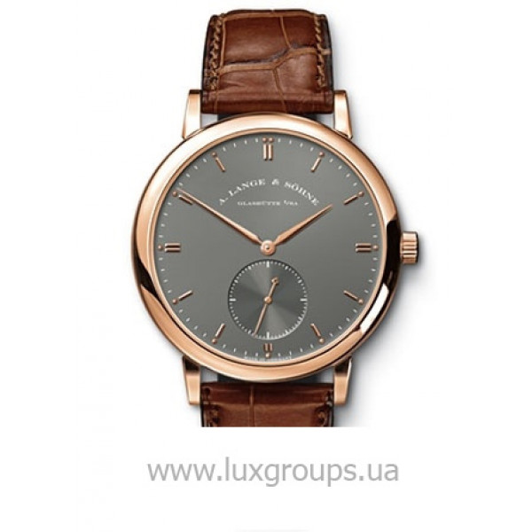 A.Lange and Söhne watches Grand Saxonia Automatik (RG / Grey / Leather)