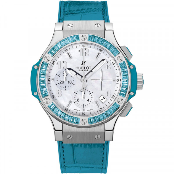 Hublot watches Steel Tutti Frutti Blue