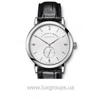 A.Lange and Söhne watches Saxonia (WG / Silver / Leather)