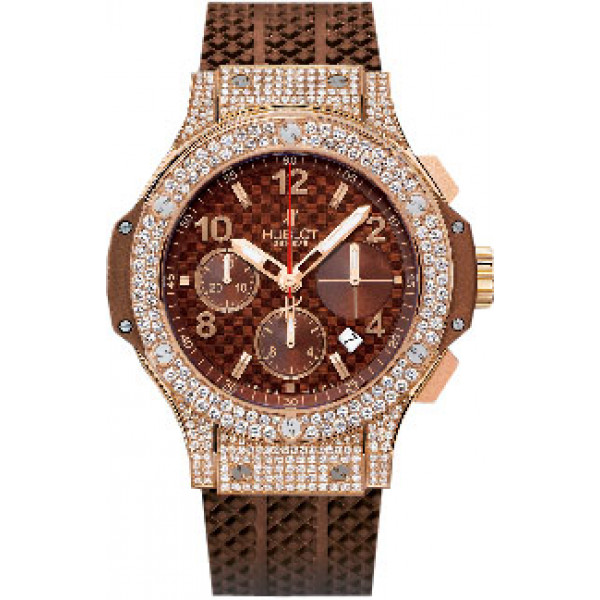 Hublot watches Cappuccino Gold Pave