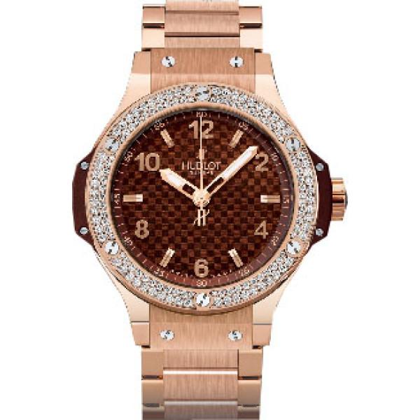 Hublot watches Cappuccino Gold Diamonds Bracelet