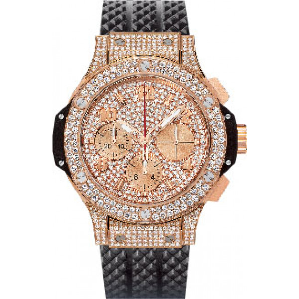 Hublot watches Gold Full Pave