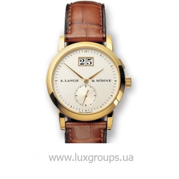 A.Lange and Söhne watches Saxonia (18kt YG / Silver / Leather)