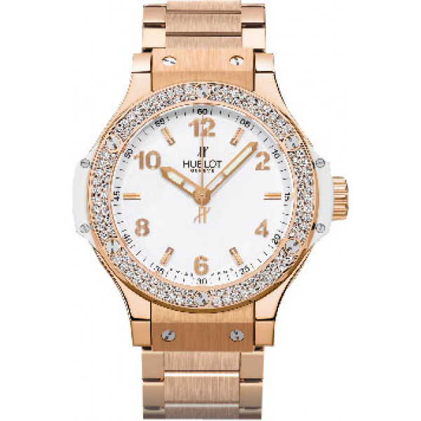 Hublot watches Gold White Diamonds Bracelet