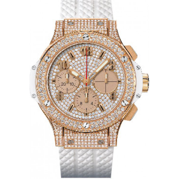 Hublot watches Gold White Full Pave