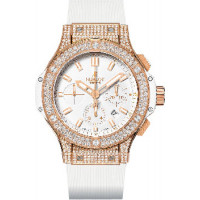 Hublot watches Gold White Pave
