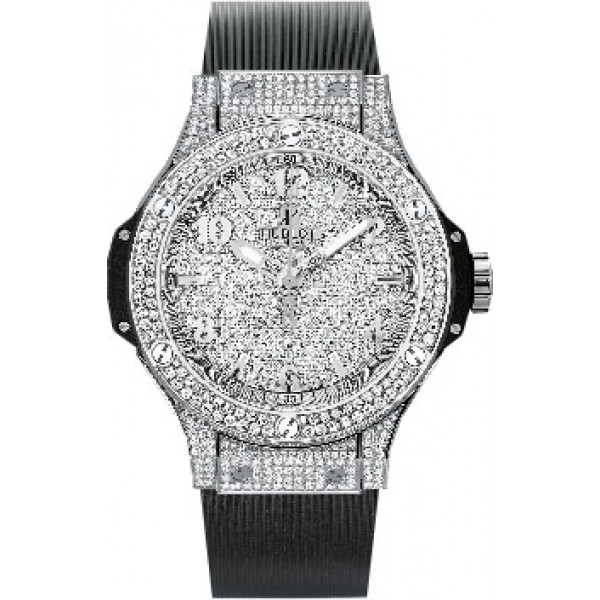 Hublot watches Steel Full Pave