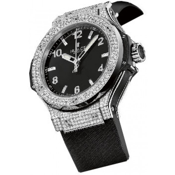 Hublot watches BIG BANG 38 STEEL DIAMONDS