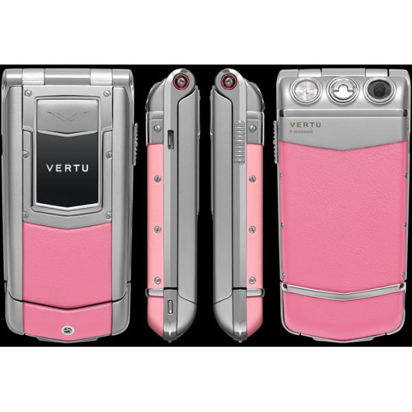 Vertu Constellation Ayxta Steel Aluminium Ceramic Pink