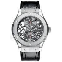 Hublot watches Skeleton Tourbillon Titanium Limited Edition 50