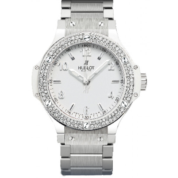 Hublot watches Steel All White Diamonds