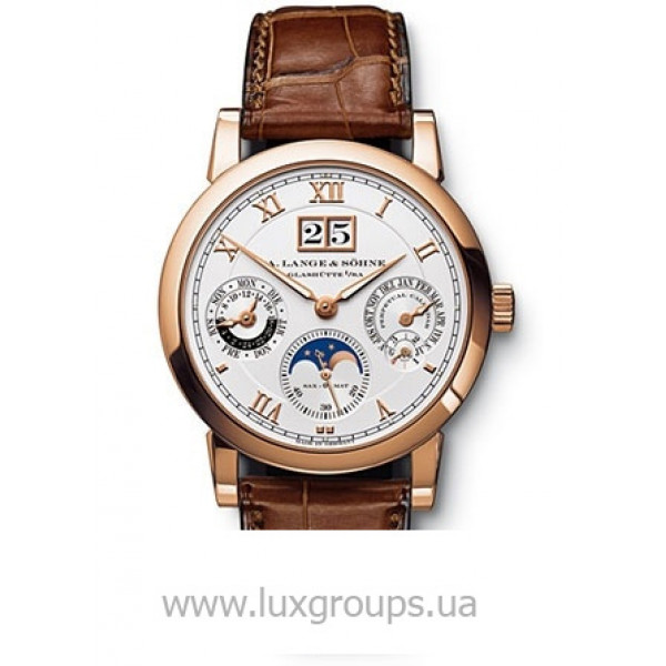 A.Lange and Söhne watches Langematik-Perpetual (RG / Silver / Leather)
