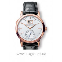 A.Lange and Söhne watches Langematik (18kt PG / Silver / Leather)