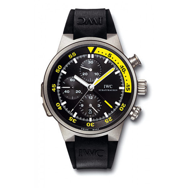 IWC watches Aquatimer Split Minute Chronograph (Rubber)