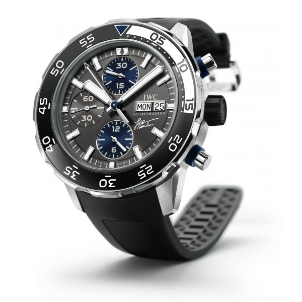 IWC watches Aquatimer Chronograph Edition Jacques-Yves Cousteau