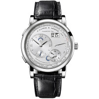 A.Lange and Söhne watches Lange 1 Time Zone (Platinum / Silver)