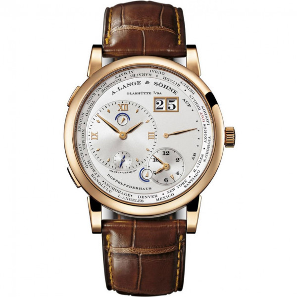 A.Lange and Söhne watches Lange 1 Time Zone (18kt Pink Gold / White)