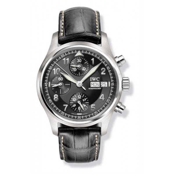 IWC watches Spitfire Chronograph (Black)
