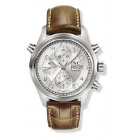 IWC watches Spitfire Double Chronograph (Silver)