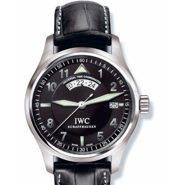 IWC watches Spitfire UTC (Black)