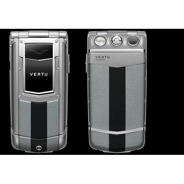 Vertu Constellation Ayxta Steel Aluminium Sapphire Black and Silver