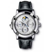 IWC watches Grande Complication (Platinum / Silver / Leather)