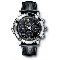 IWC watches Grande Complication (Platinum / Black / Leather)
