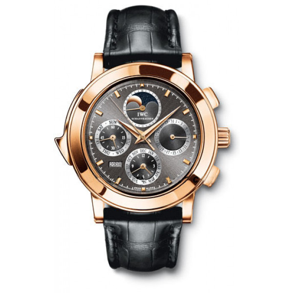IWC watches Grande Complication (RG / Black / Leather)