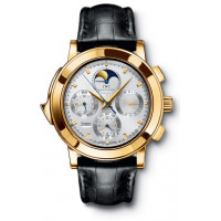 IWC watches Grande Complication (18kt YG / Silver / Leather)