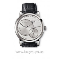 A.Lange and Söhne watches Grande Lange 1 (Platinum / Solid Silver / Leather)