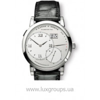 A.Lange and Söhne watches Grand Lange 1 (Platinum / Silver / Leather)