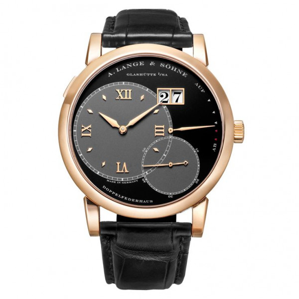 A.Lange and Söhne watches Grand Lange 1 (18kt PG / Silver / Leather)
