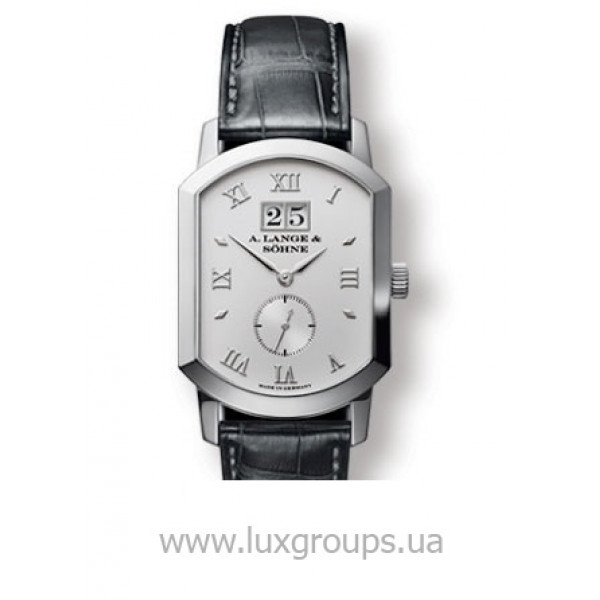 A.Lange and Söhne watches Grand Arkade (Platinum / Silver / Leather)