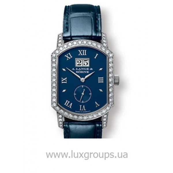 A.Lange and Söhne watches Grand Arkade (18kt WG / Blue / Diamonds)
