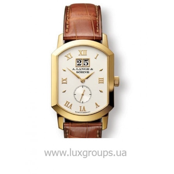 A.Lange and Söhne watches Grand Arkade (18kt YG / Silver / Leather)