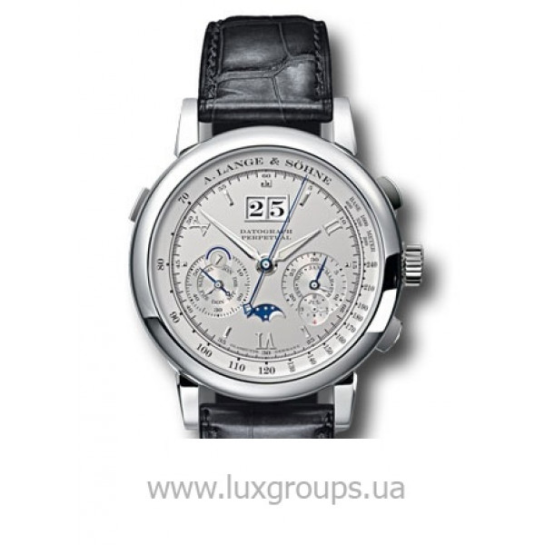 A.Lange and Söhne watches Datograph Perpetual (Platinum / Strap)