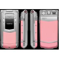 Vertu Constellation Ayxta Steel Diamond Trim Ceramic Pink