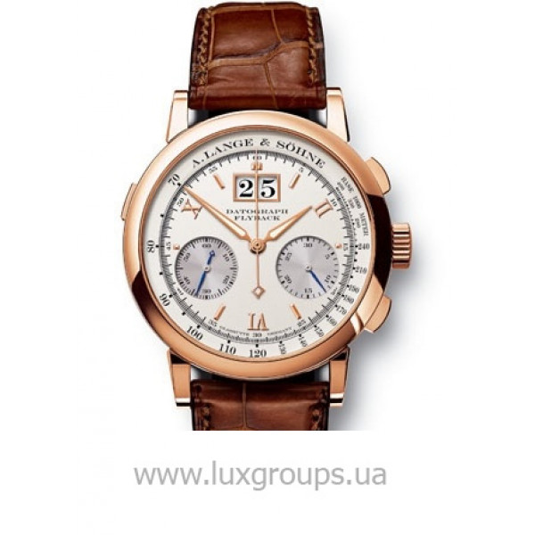 A.Lange and Söhne watches DATOGRAPH (18kt Pink Gold / White)