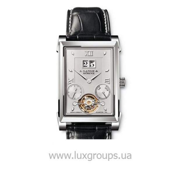 A.Lange and Söhne watches Cabaret Tourbillon (Platinum / Silver / Leather)